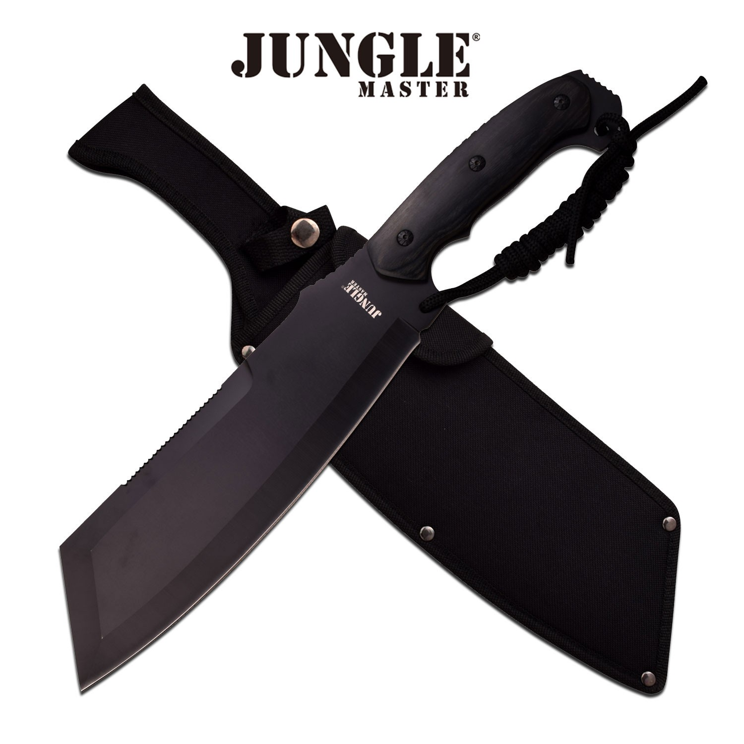 """Mtech Cleaver: Jungle Master 10"""" Reverse Tanto Cleaver Fixed Blade"""