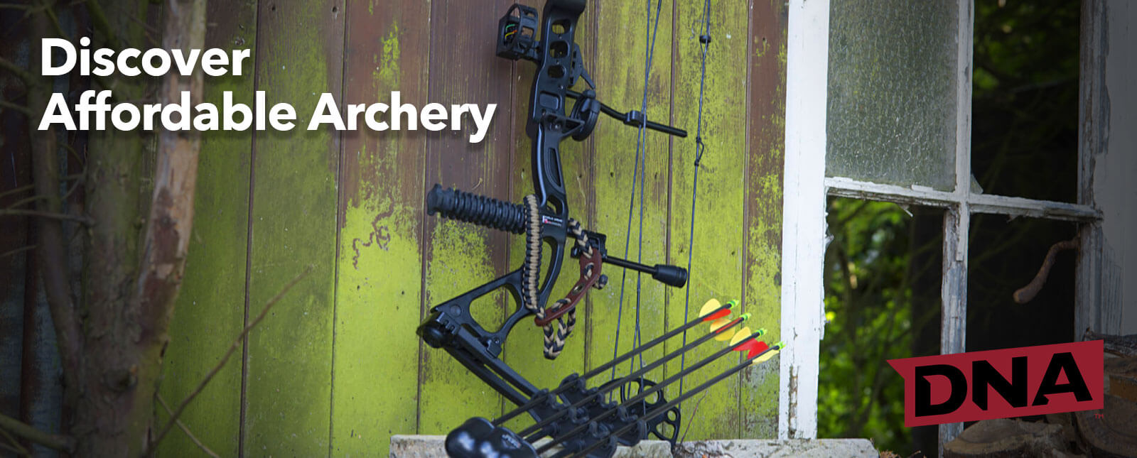 dna leisure archery bows and accessories
