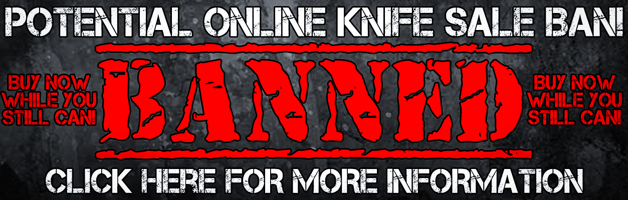 Banned, Knives, Online, Sales