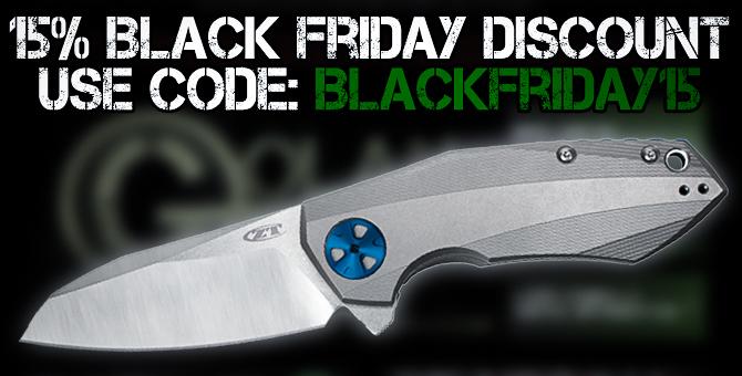 Black Friday Knife Sales