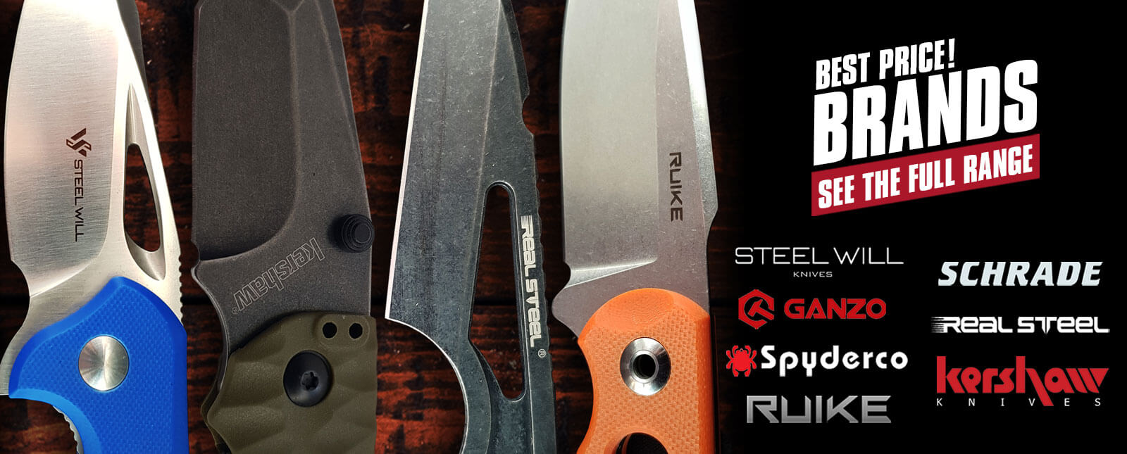 best knife brands