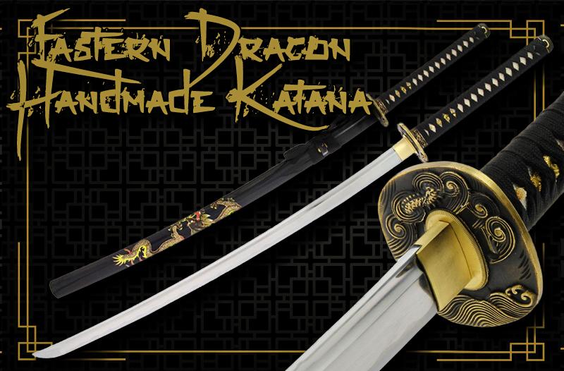 Sword Eastern Dragon Katana Ninja Samurai
