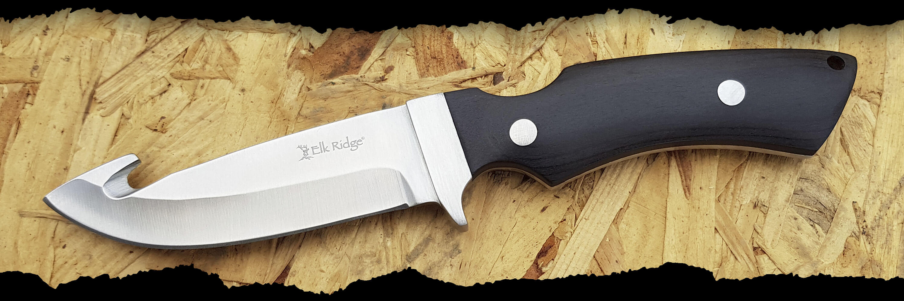 ELK RIDGE TACTICAL GENTLEMAN'S KNIFE - GUT HOOK