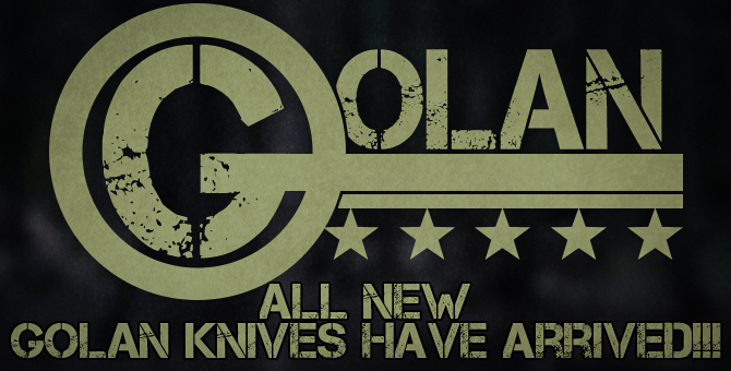 Golan Spring Assisted Knives