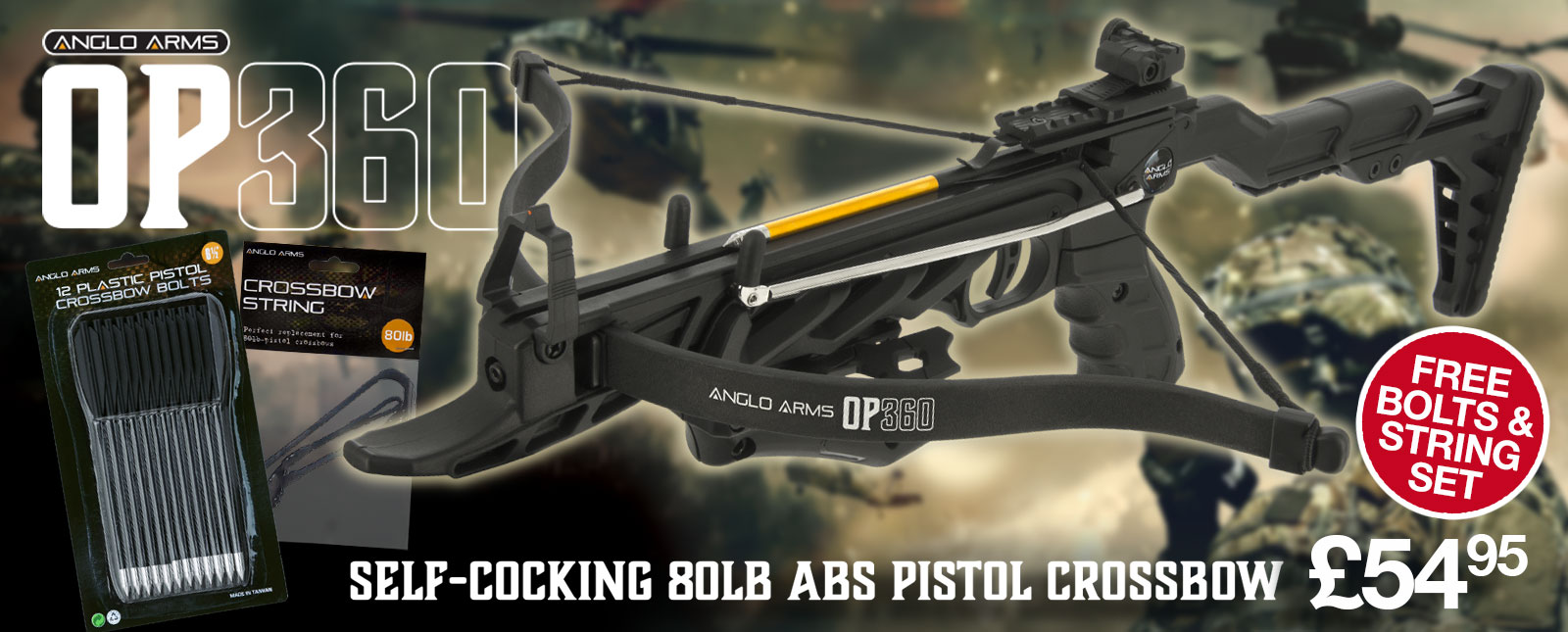 Anglo Arms OP360 Crossbow