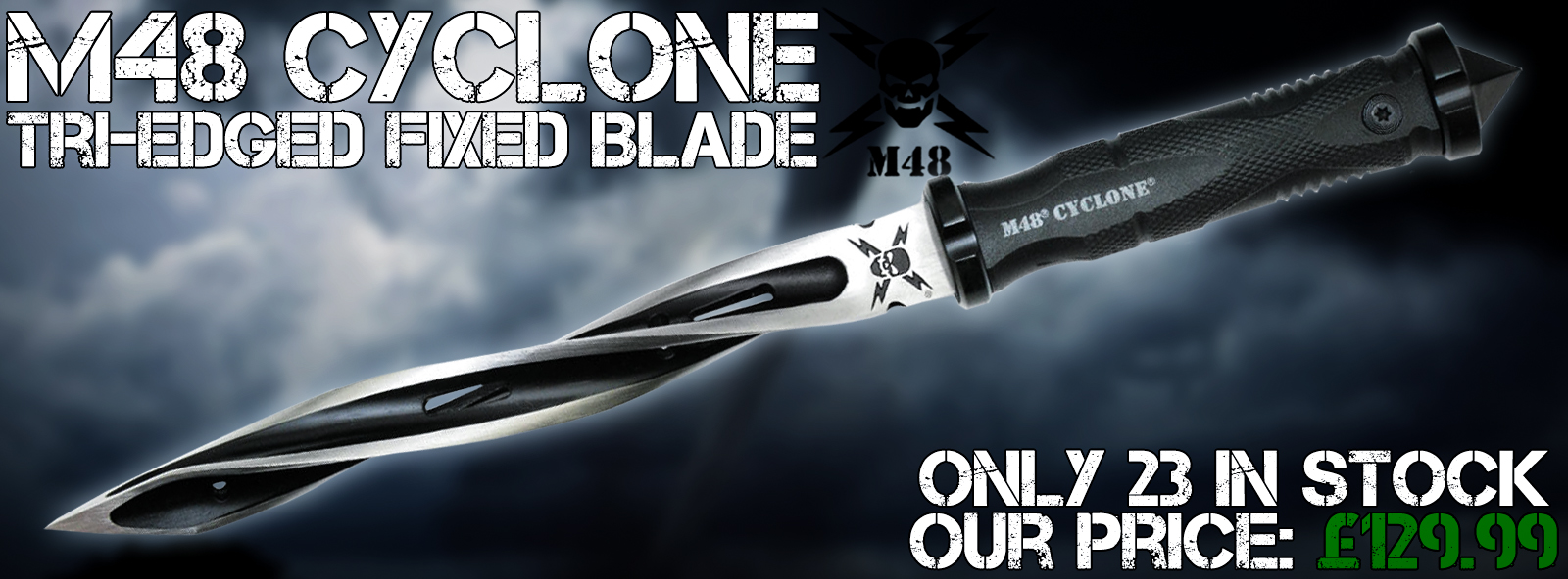 Cyclone Jagdkommando Fixed Blade Knife