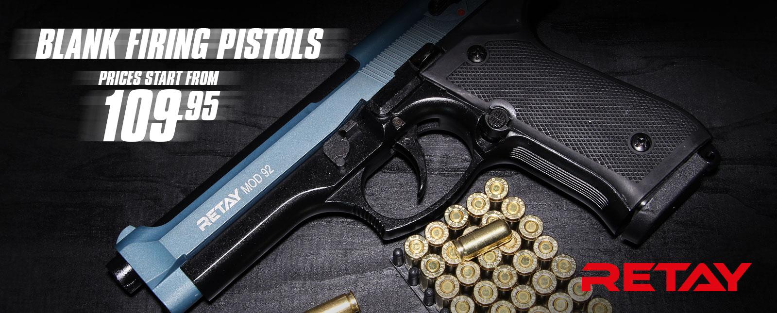 Retay Blank Firing Pistols