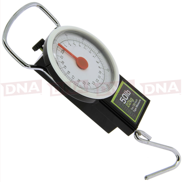 22kg Angling Pursuits  Scales 50lb with Tape Measure