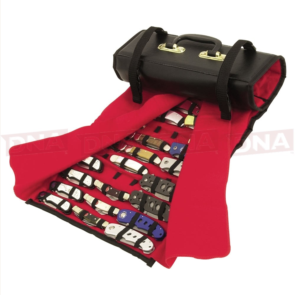 Large Knife Roll - Holds Up To 50 Knives - United Cutlery