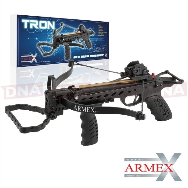 Armex 80lb Tron Pistol Crossbow with Foregrip