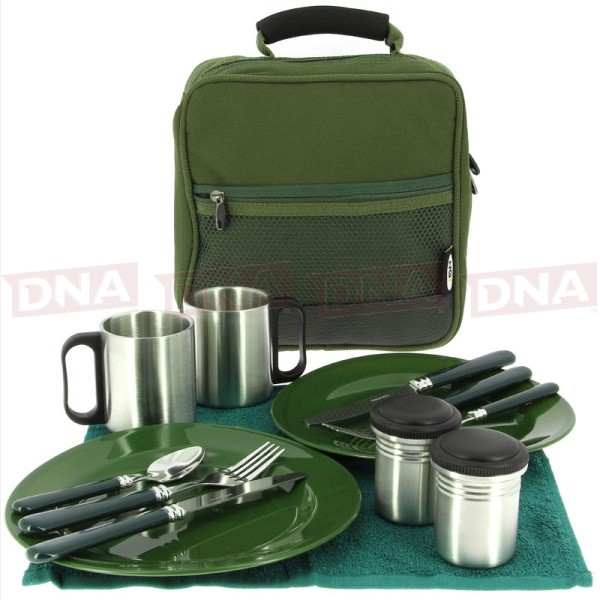 Camping Cutlery Set Open