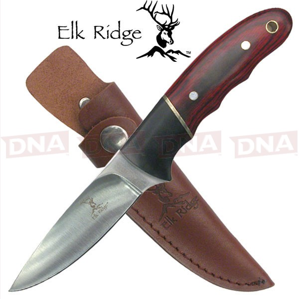 Elk-Ridge-Mirror fixed-Blade-Pakkawood-Knife