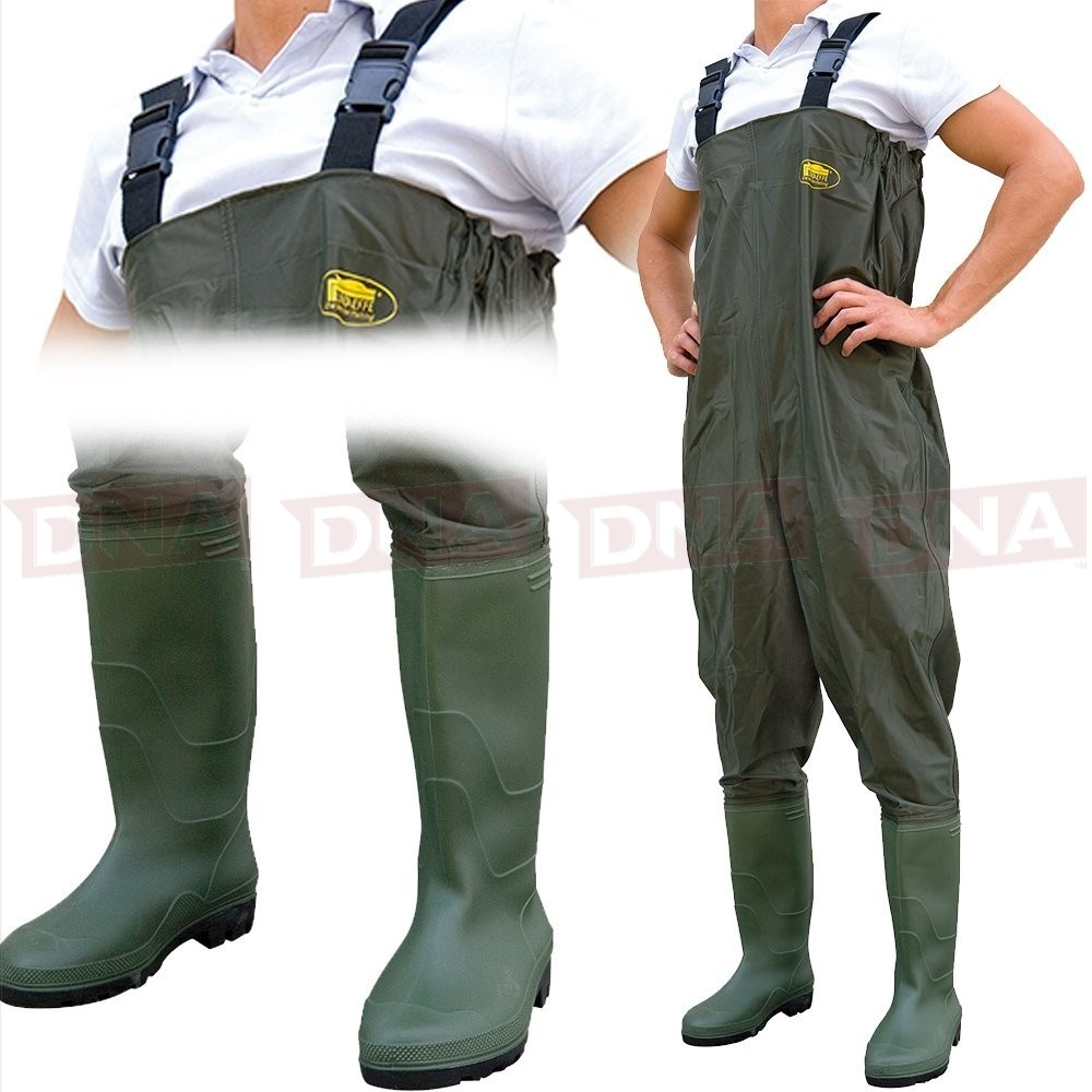 Lineaeffe Green All Weather Waders Main