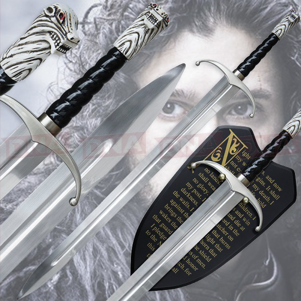 Jon-Snow's-Longclaw-in-Knight's-Watch-Style-Main-Graphic