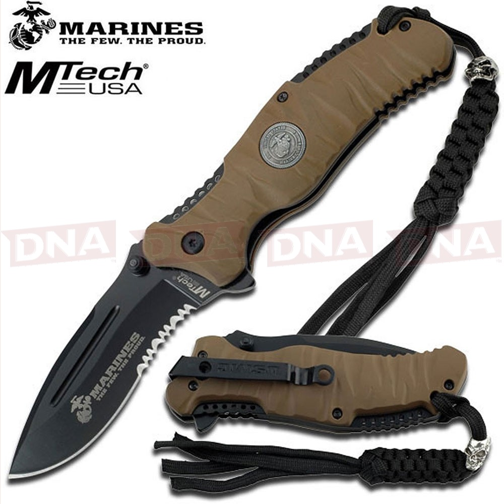 MTech US Marines M-A1020BT Spring Assisted Knife
