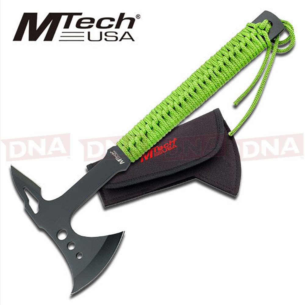 MTech USA Tactical Green Cord Wrapped Utility Axe
