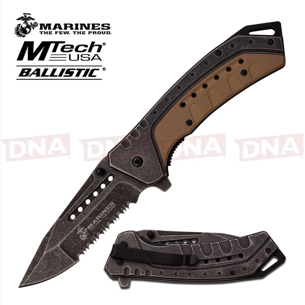US-Marines-Tan-Clip-Point-Knife