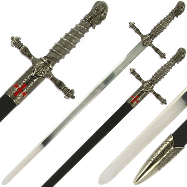 Single Straight Assassins Sword of Ojeda with Sheath Main
