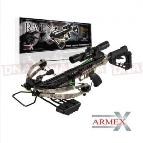 Armex 175lb Raven Compound Crossbow with 4 x 32 Scope
