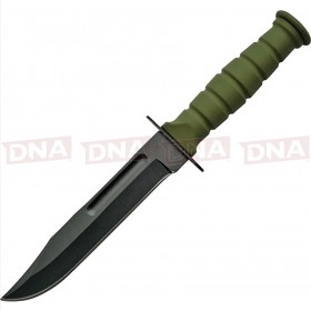 CN211360GN Military Fixed Blade Knife - Green