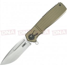 CRKT CRK270GKP Homefront Linerlock Knife - Green