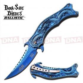 Dark Side Spring Assisted Folding Knife