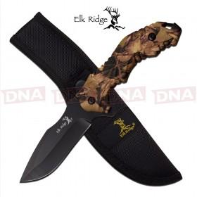 Elk Ridge Camo Fixed Blade