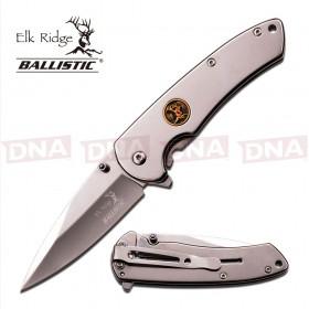 Elk Ridge ER-A005CH Chrome Ballistic