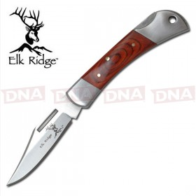 "Elk Ridge Traditional 2"" Lock Back Folding Knife"
