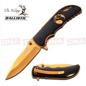 Elk Ridge Gold Blade Gentleman's Knife - Ballistic