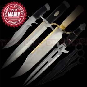 Expendables Manly Movie Knife Bundle