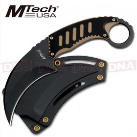 MTech Fixed Blade Karambit - Tan