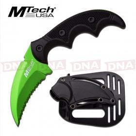 MTech Green Hawk Bill Karambit