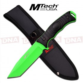 MTech Green Tanto Knife