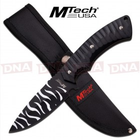 Mtech USA Zebra Style Fixed Blade Knife