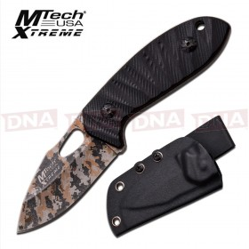 MTech Xtreme Laser Camo Fixed Blade