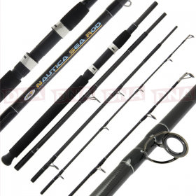 Nautica 8ft 4pc Carbon Sea Travel Rod
