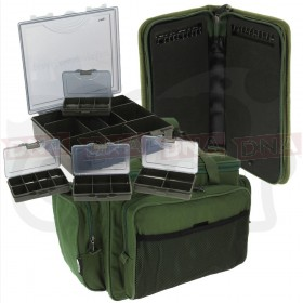 4+1 Tackle Box with Rig Wallet and Insulated Carryall