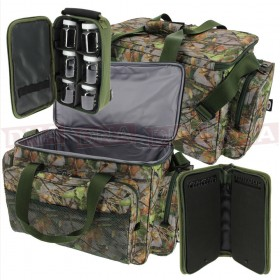 Camo Insulated Carryall with Glug Bag and Rig Wallet
