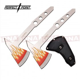 Perfect Point PP-120-2FL Hot Rod Throwing Axe Set