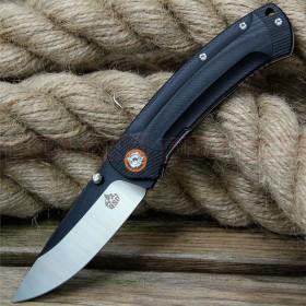 QSP Copperhead Ball Bearing Assisted Lock Knife - Stonewash Flats