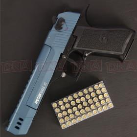 Retay Eagle XU 9mm Black/Blue Blank Firing Pistol
