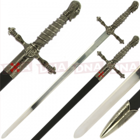 Single Straight Assassins Sword of Ojeda with Sheath
