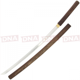 Wenge Wood Shirasaya Katana Hand Made Sword