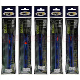 Pack of 10 NGT Assorted Pole Rigs (Coarse, Carp or Match)