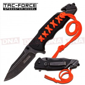 Stitched Paracord Ballistic Knife