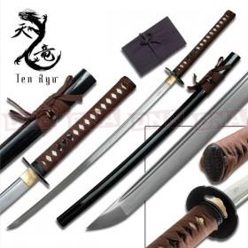 Ten Ryu Hand-Forged Brown Katana