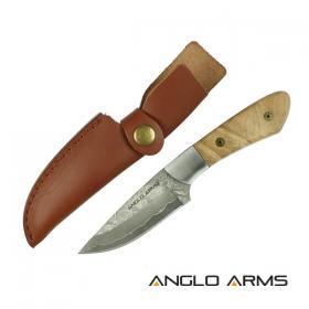 Damascus Steel Skinning Knife