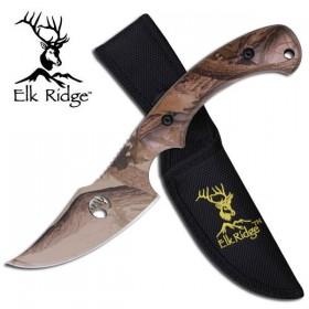 Elk Ridge Extreme Camo Skinning Knife