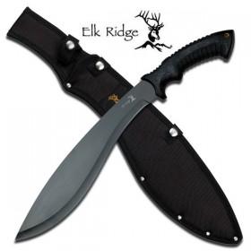 Elk Ridge Tactical Black Kukri Machete
